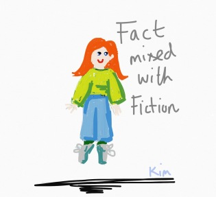 Fact mixed with fiction, Kim griffiths, Kim montero life blog