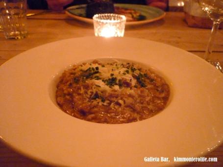 risotto, Bar Galleta, Malasaña, Madrid, Blog Kim Montero Life