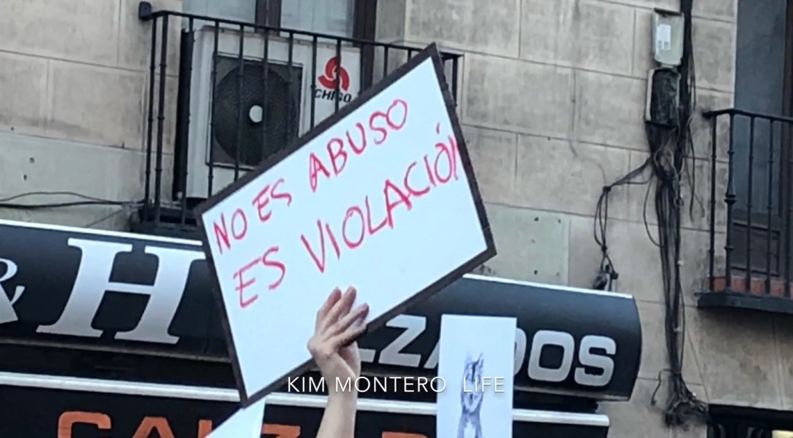 #NoesNo Madrid reacts to La Manada verdict 26.04.18